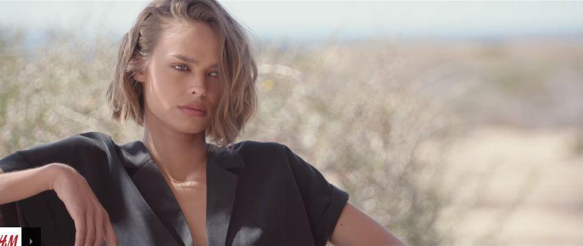 Modelle H&M pubblicità con modelle sulla spiaggia con Foto - Maggio 2017