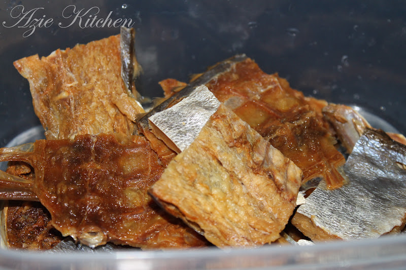 Gulai Lemak Ikan Talang Masin Dengan Nenas Azie Kitchen