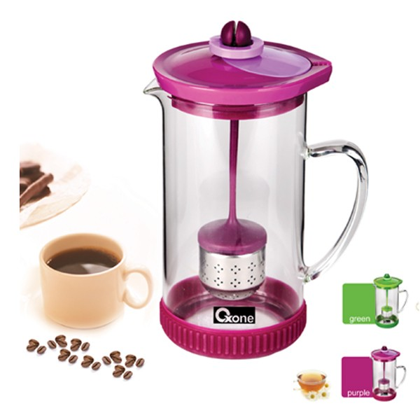 OX-035 2in1 Coffee & Tea Maker Oxone - Ungu