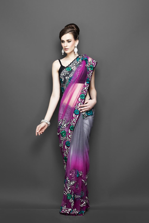 Saree World: Designers Wedding Sarees Collection