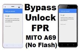 Cara FRP Bypass Mito A69 Email Verifikasi Tanpa PC