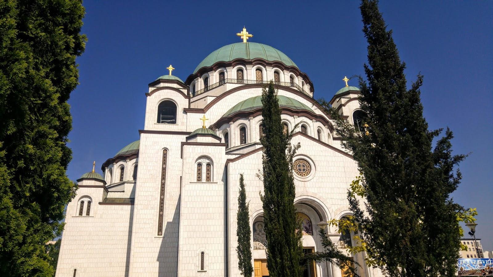 Serbie Belgrade l'église Saint-Sava de Belgrade