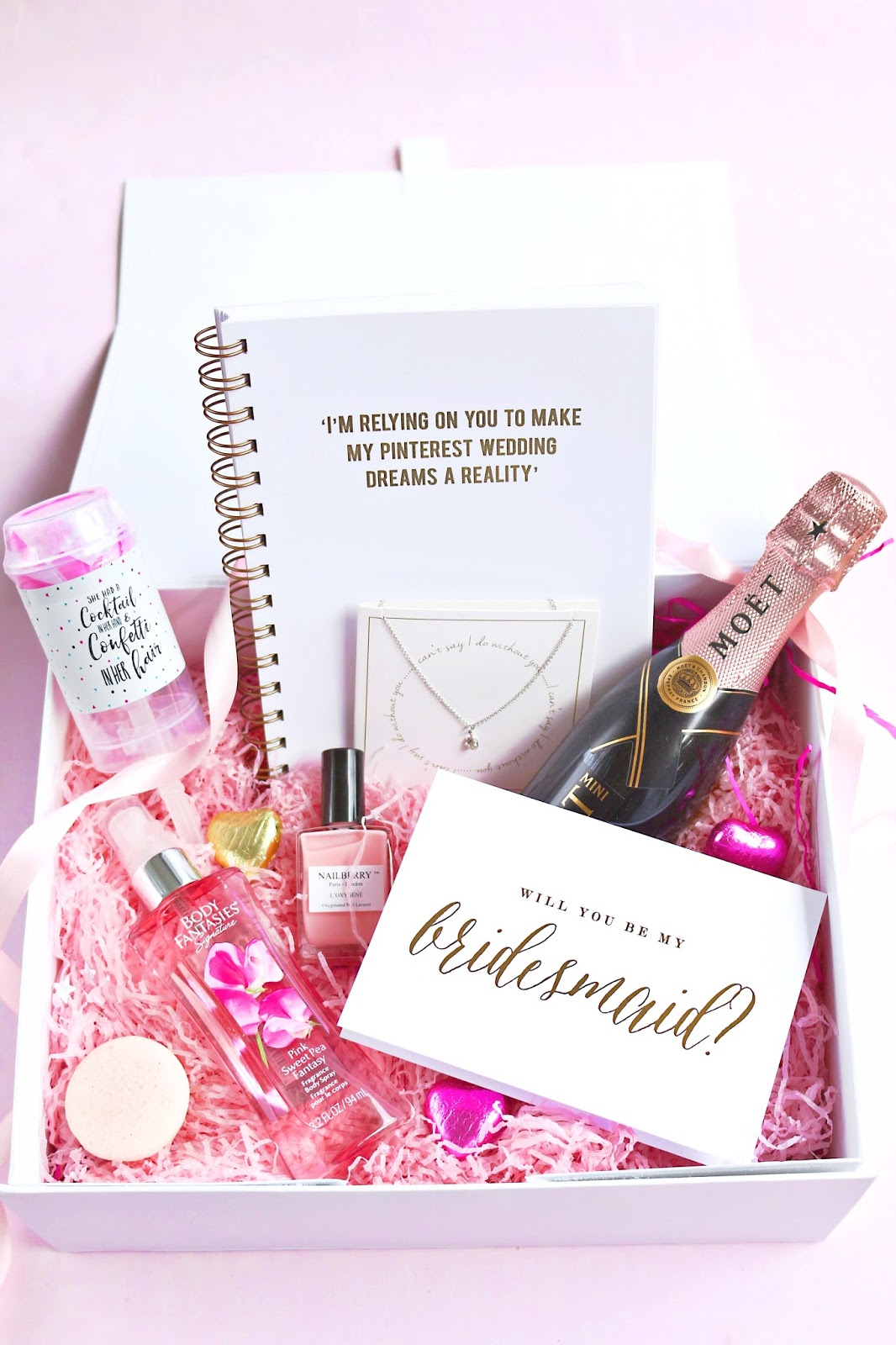 Diy Will You Be My Bridesmaid Box Dizzybrunette
