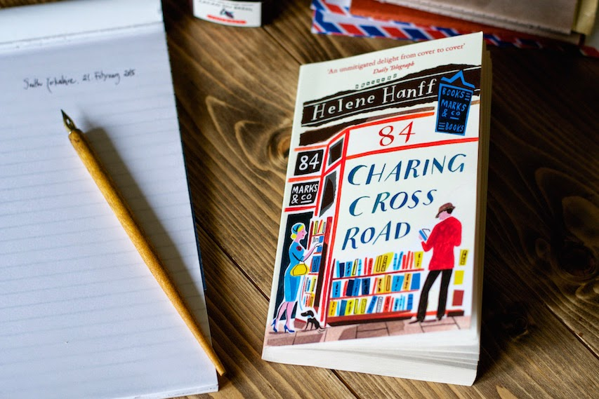 84 Charing Cross Road by Helene Hanff · Lisa Hjalt