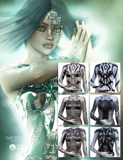 Jepe's Body Jewels 3 for Daz Studio