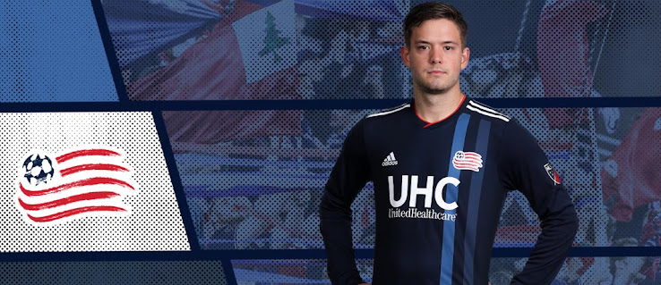 new arrivals 67754 46ba4 New England Revolution 2018-2019 Home Kit Released - Footy ...