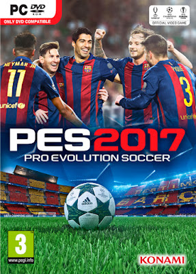 [PC DVD] Pro Evolution Soccer  2017 - FULL UNLOCKED