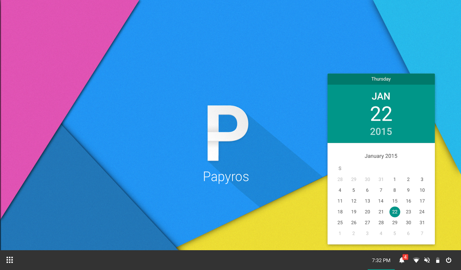 material design linux papyros