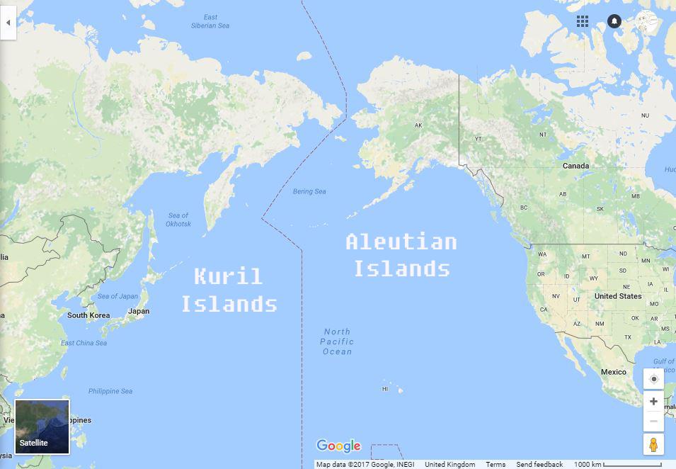 North Kuril Islands Russia