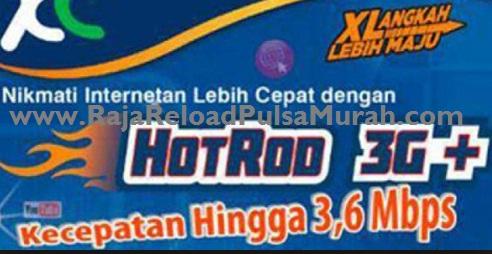 Raja Pulsa XL HotRod 3G Paling Murah Se Indonesia