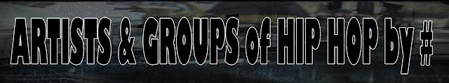 Artistas & Grupos de Rap / Hip Hop por #