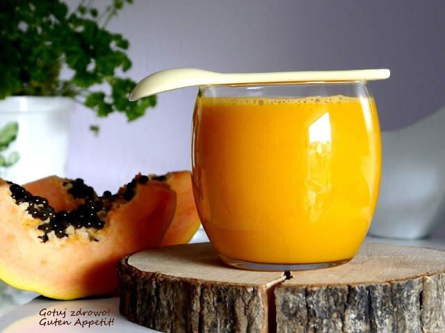 Koktajl z papayą na promienny wygląd - Czytaj więcej »