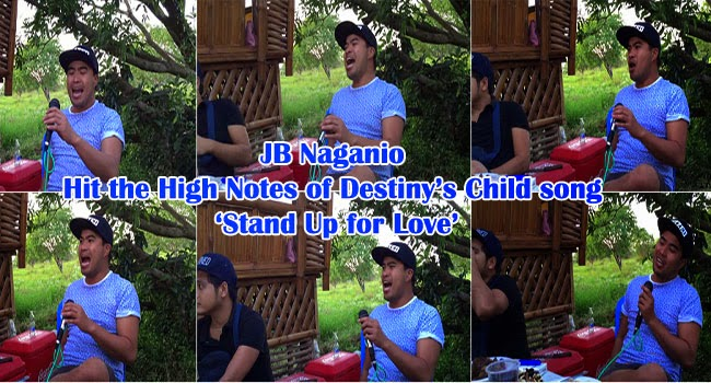 Watch Viral Video of JB Naganio Hitting the High Notes of Destiny's Child song 'Stand Up for Love'