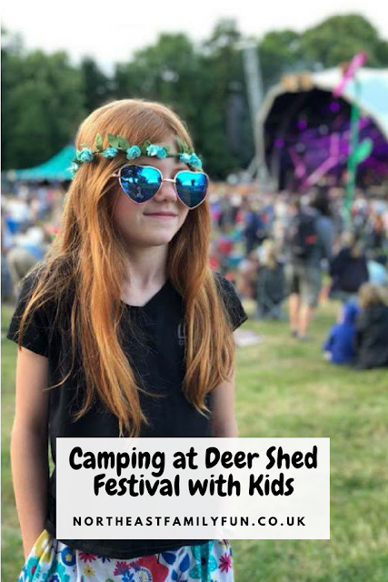 Camping at Deer Shed Festival with Kids