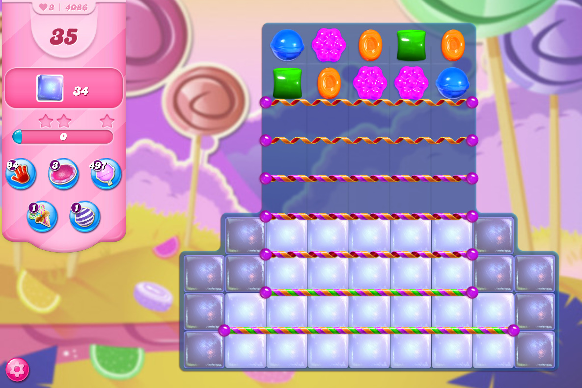 Candy Crush Saga level 4086
