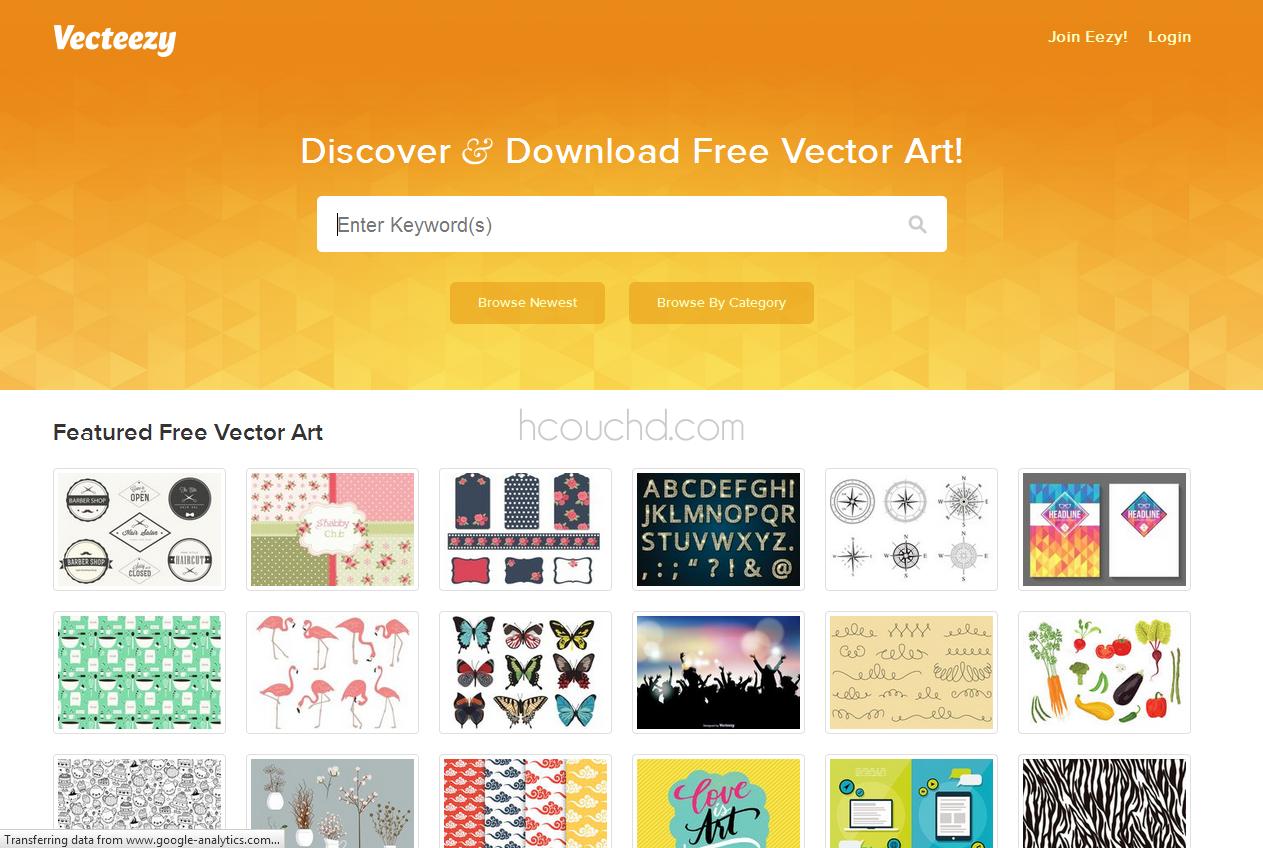 5 أفضل المواقع لتحميل ملفات فيكتور (Vector) مجانا - Hcouch