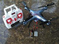 Upgrade baterai drone syma X5HW