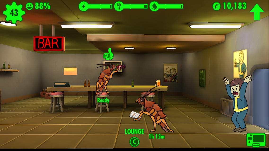 When Fallout Shelter Goes Wild Fallout Shelter Cheat