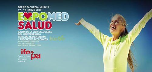 EXPOMED SALUD. Feria de la Vida Saludable del Mediterráneo, del 17 al 19 de marzo de 2017.