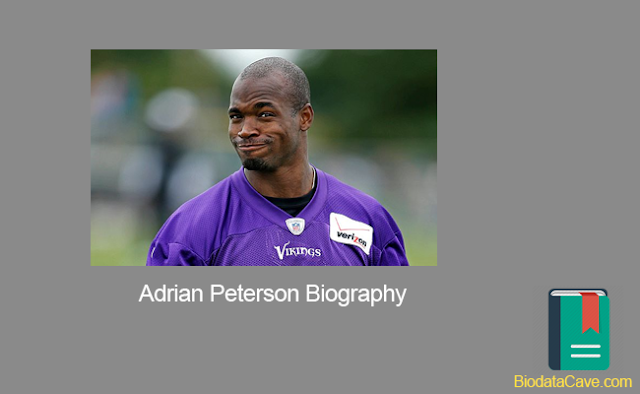 Biography of Adrian Peterson and his lifestyle