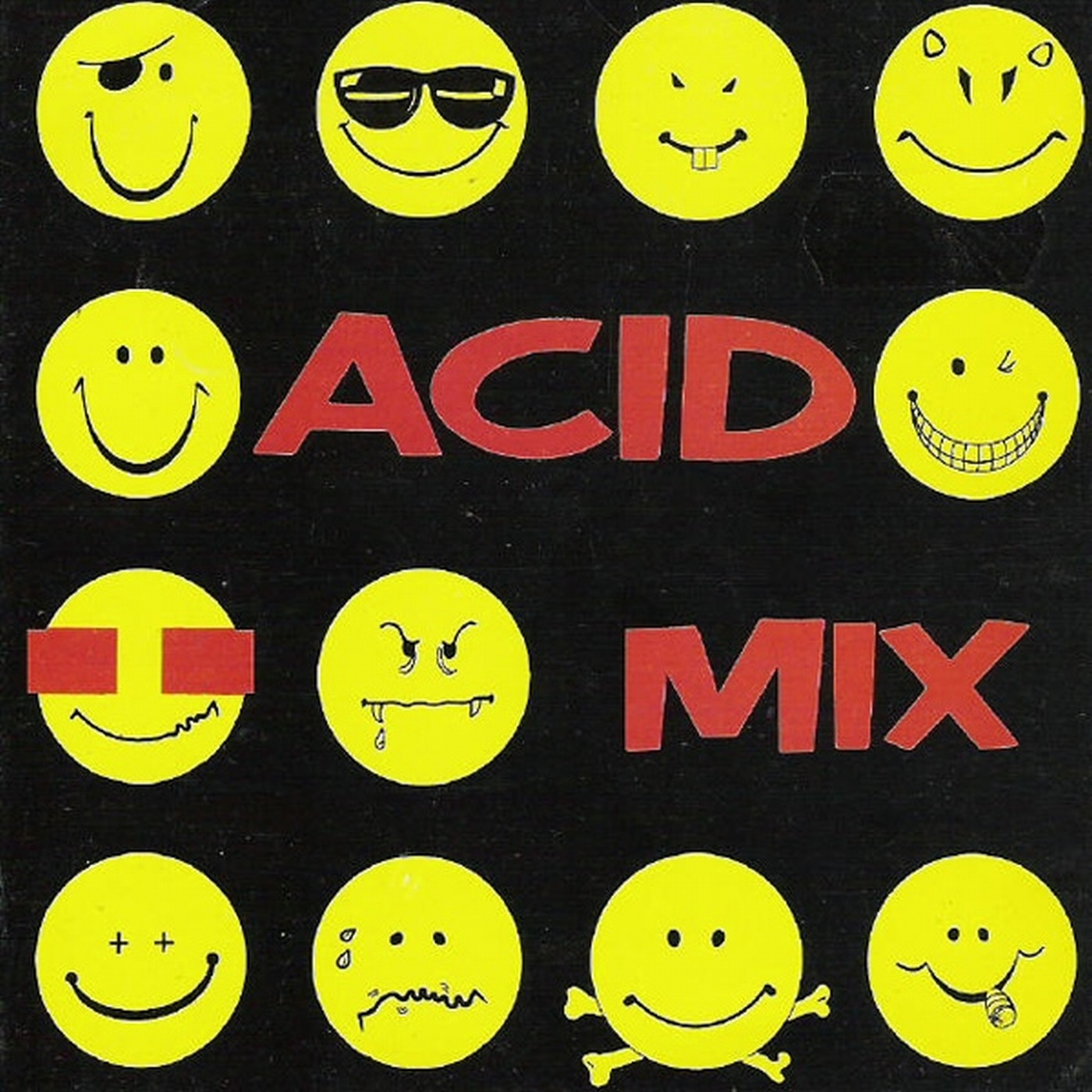 Acid mix cd mixed 1989 dance vinilo cd for Dance music 1989