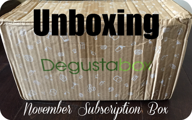 DegustaBox November Unboxing