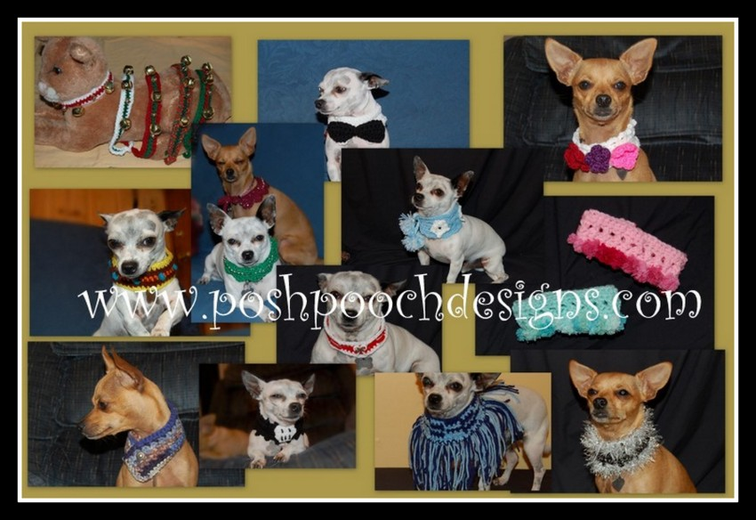 Posh Pooch Designs Dog Clothes 12 Dog Collar Free Crochet Pattern