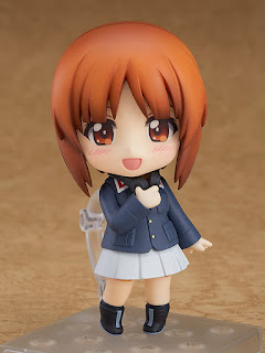 "Nendoroid Miho Nishizumi Panzer Jacket & Peacoat Ver de ""Girls und Panzer der Film"" - Good Smile Company"