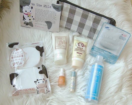 BEAUTEQUE Head To Toe Milk Bag Unbox