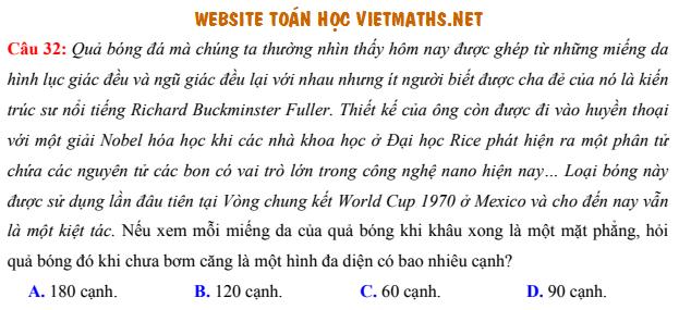 Bo de on tuyen sinh quoc gia mon Toan cua Thac si Nguyen Vu Minh