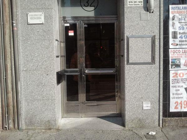 puertas comunidades Zaragoza