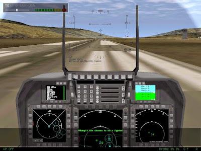 f22 raptor pc game cockpit view