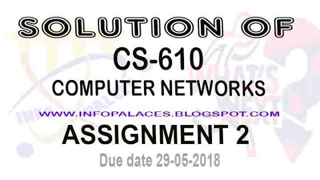 CS 502 Assignment 2 Spring 2018 Solution