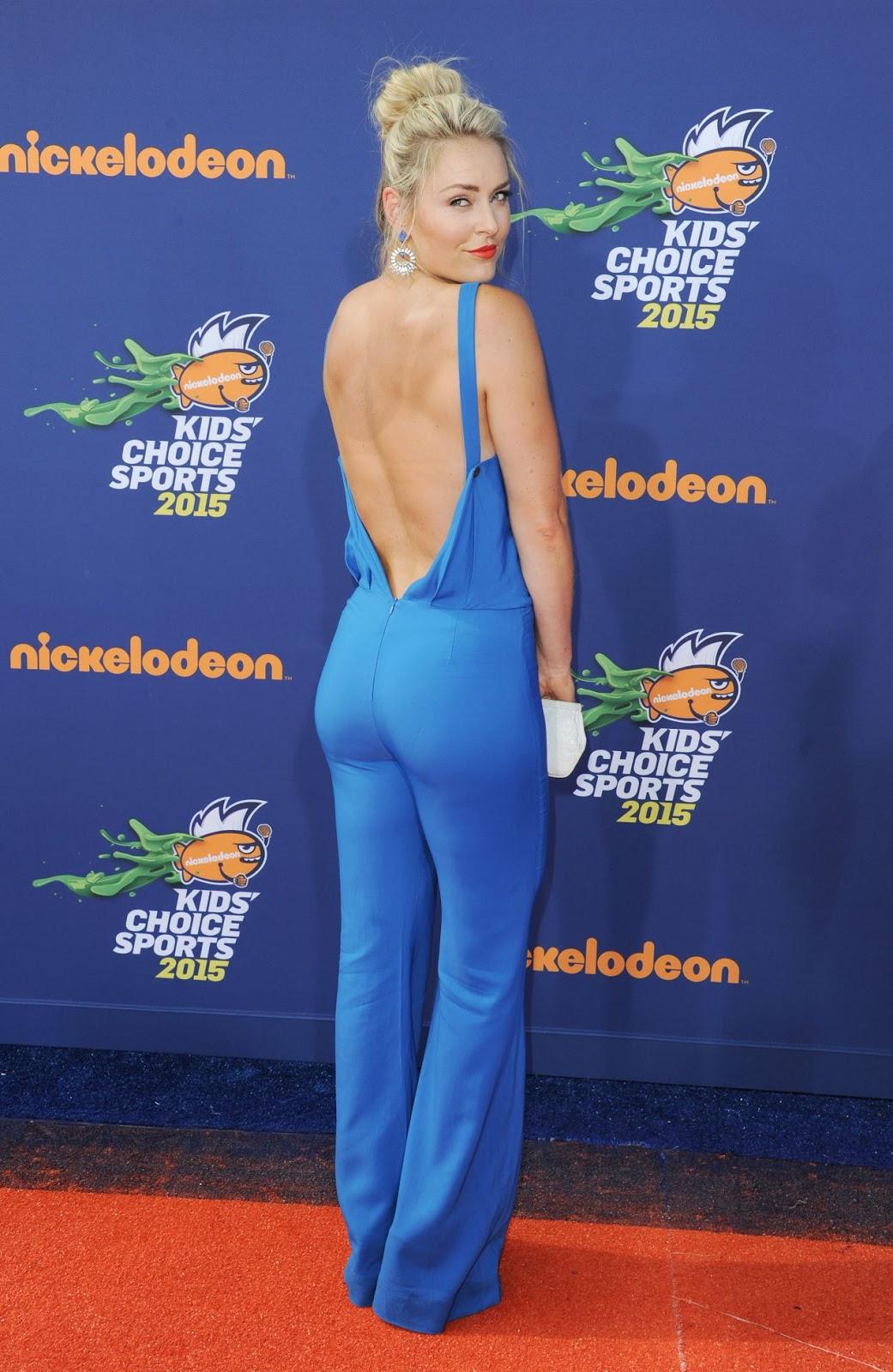 Lindsey Vonn Legs >> Lindsey Vonn – 2015 Nickelodeon Kids' Choice Sports Awards
