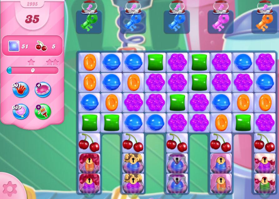 Candy Crush Saga level 2995