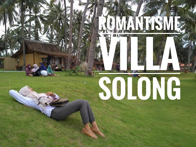 Pantai Villa Solong Banyuwangi.