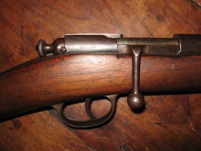 Carabine « Populaire-Scolaire », détail, estampillée par la manufacture,  années 1880