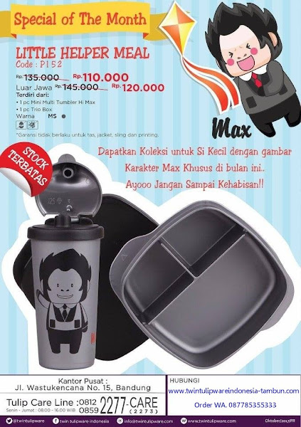 Promo Spesial November 2017, Little Helper Meal