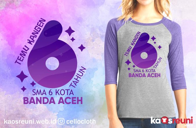 Kaos Reuni Temu Kangen 6 Tahun SMA - Kaos Reuni Online