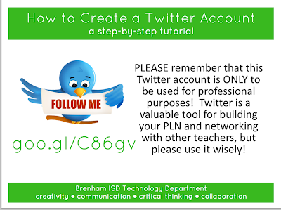 A Great Visual Guide to Create Twitter Account for your