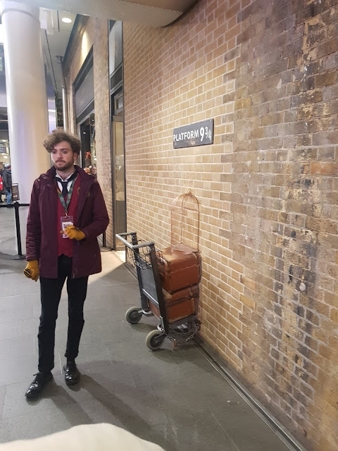 Stazione King's Cross-Platform 9 e 3/4-Londra