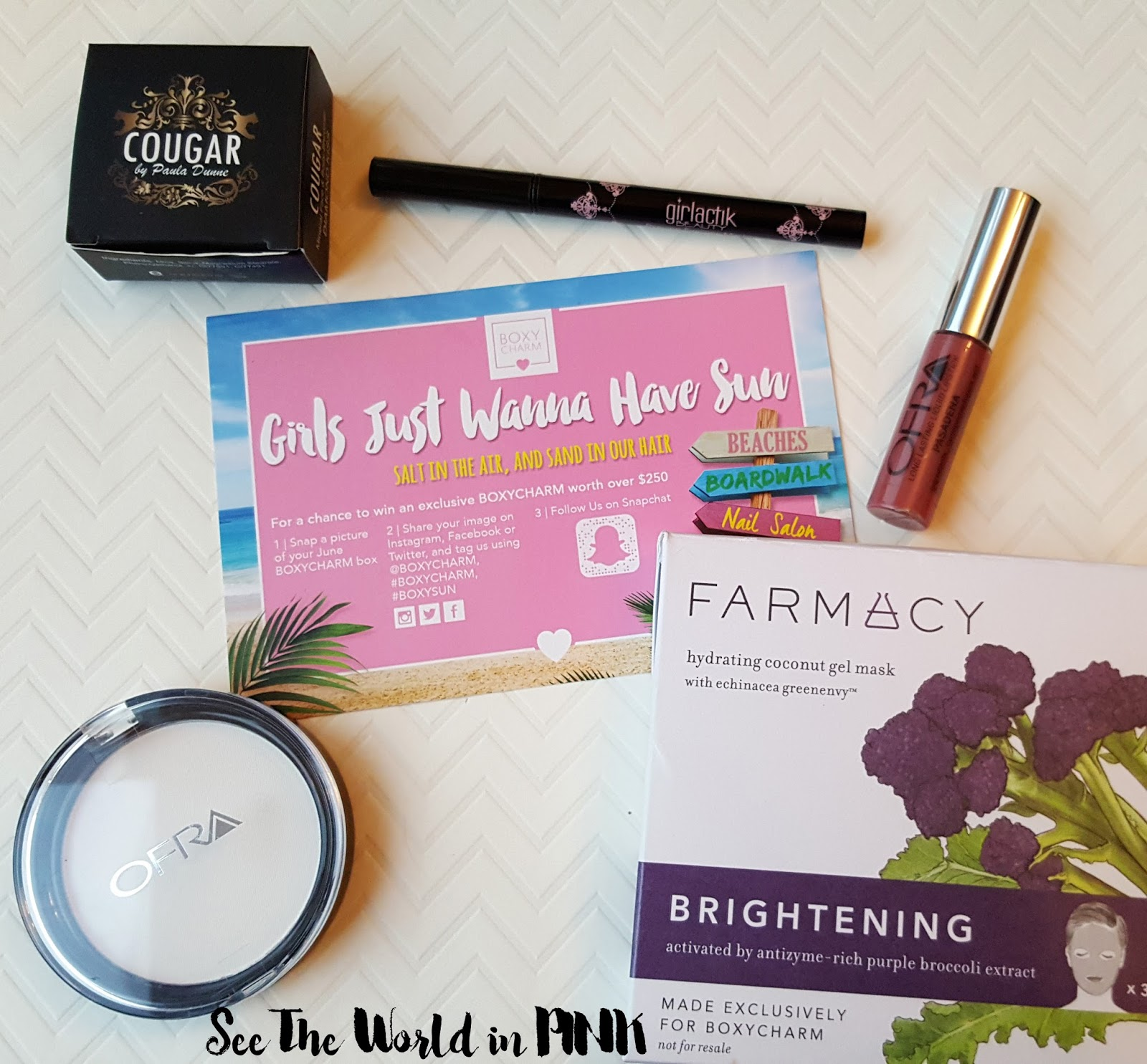 June 2016 Boxycharm - First month shipping to Canada!