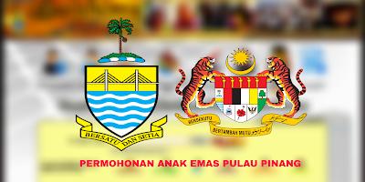 Borang Permohonan Anak Emas Pulau Pinang 2019