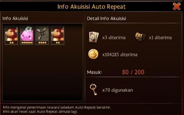 Info Akuisisi Auto Repeat