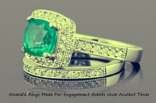 Raising Demand Of Emerald Engagement Rings At The Beginning of the year
