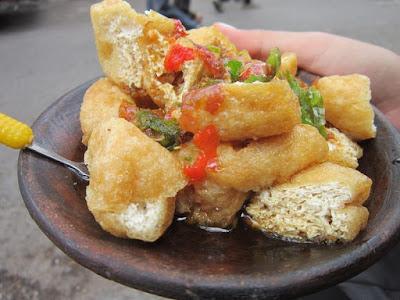 Tahu Gejrot, Kuliner Cirebon, Strawberry Delight