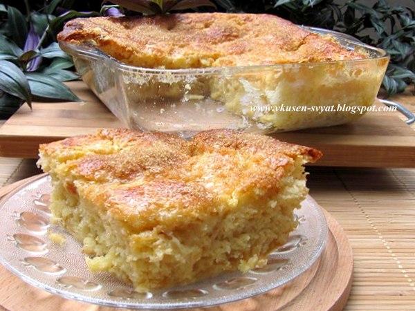 Тарт о сюкр Традиционен френски захарен пай / Тarte Аu Сucre A Traditional French Sugar Pie