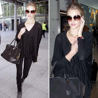 Copia el  Total Black de Rosie Huntington-Whiteley -11830-margaux