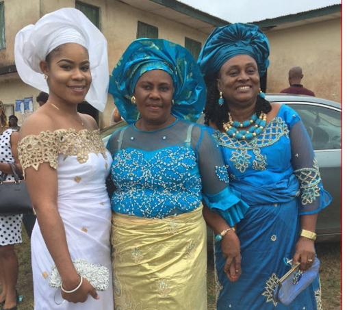 irene onwuka buries grand mother