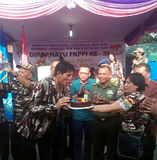 FKPPI Rayakan Hari Ulang Tahun ke-39,Wing Zorek Ketaren:Tingkatkan Konsolidasi Organisasi